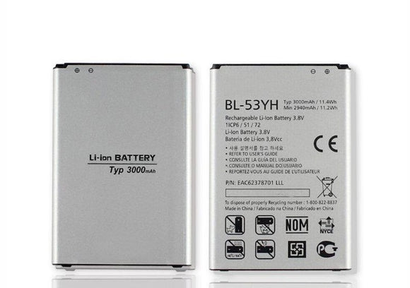 BL-53YH New OEM Original LG G3 Battery for D850 D851 D852 D855 LS990 VS985 F400