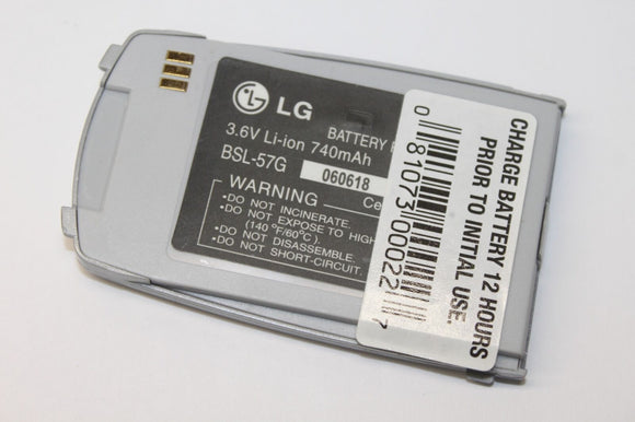 Genuine OEM LG BSL-57G Replacement Li-Ion Battery Pack 3.6V 740mAh for L1200