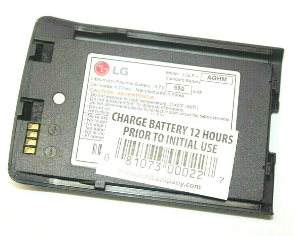 Genuine OEM LG LGLP-AGHM Li-Ion Battery 3.7V 950mAh for Voyager VX10000 VX9400