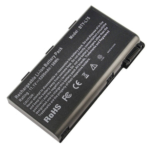 6Cell Generic Battery fr MSI A5000 A6000 A6200 BTY-L74 BTY-L75 MS-1682 CR600 CR620 CX600
