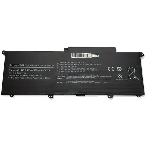 New Laptop Generic Battery for Samsung NP900X3B-A01CA NP900X3B-A01US 5200mah 4 Cell