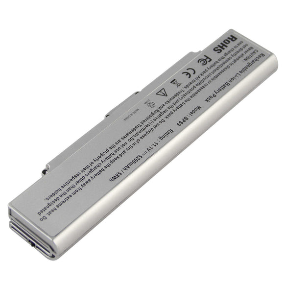 Laptop Generic Battery for Sony Vaio VGN-CR11S VGN-CR13 VGN-CR20 VGP-BPS9 VGP-BPL9 57Wh