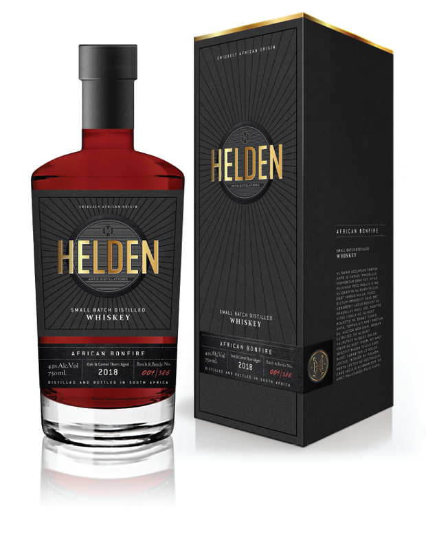 African Bonfire Whisky - Helden Distillery