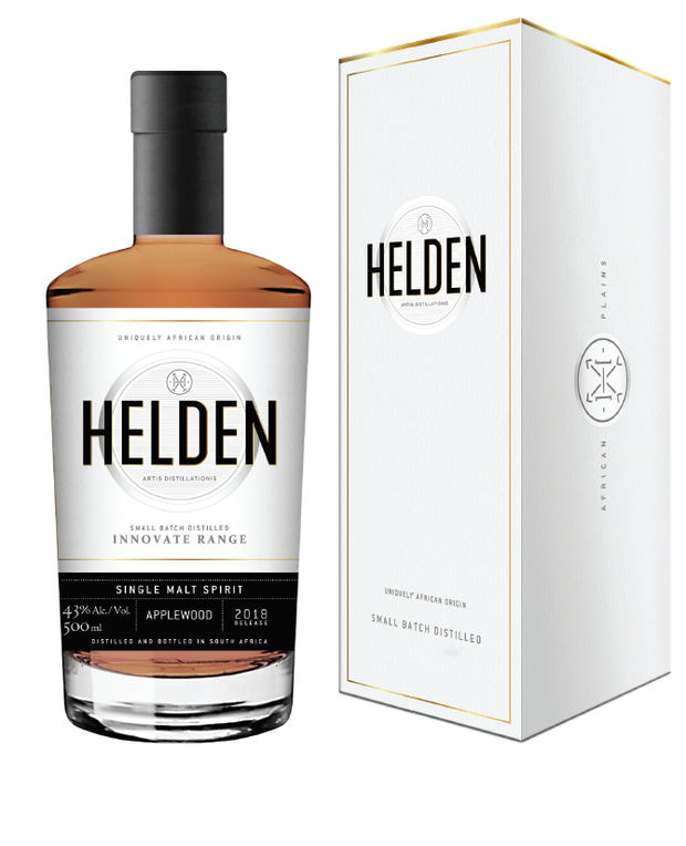 Single Malt Spirit Finished on Applewood - Helden Distillery