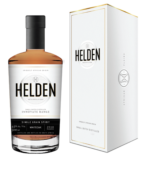 Single Grain Spirit finished on White Oak - Helden Distillery