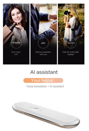 50+ Language Roo Instant Two-Way Voice Translator 2020