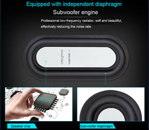 Roo Mini Portable Bluetooth Speaker - Supports TF Card- HD Sounds!