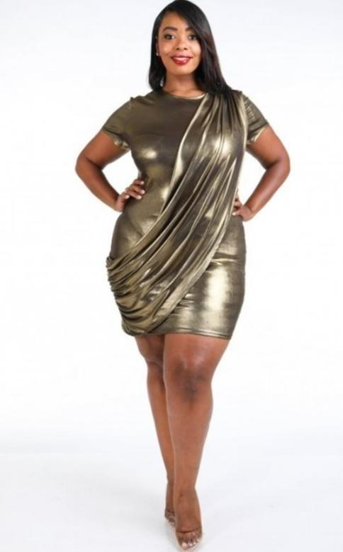 Metallic-Plus Size