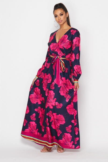 On The Edge Maxi Dress