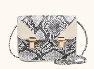 Snake Skin Crossbody Purse