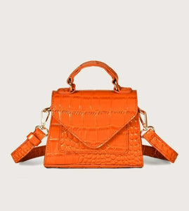 Tangerine Satchel Purse