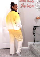 Faded Lounge Set- Yellow S to XL