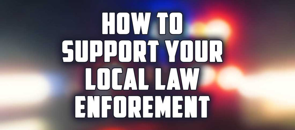 Back The Blue: Small Ways You Can Support Your Local Law Enforcement