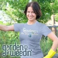 Garden Of Weedin' is a t-shirt brand for gardeners. Website coming soon!