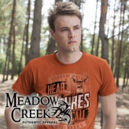 Meadow Creak Brand is a hunting t-shirt brand. Website coming soon!