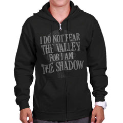 Black|I Am the Shadow Zip Hoodie|Tactical Tees