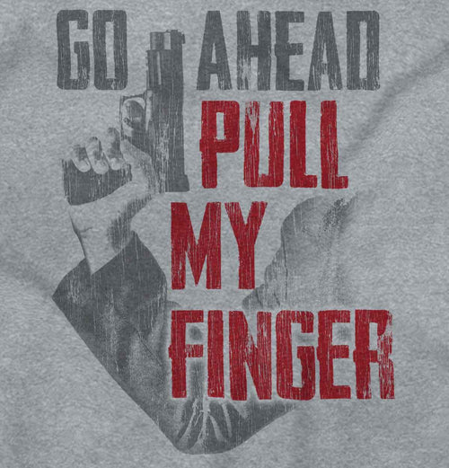 SportGrey2|Go Ahead Pull My Finger Tank Top|Tactical Tees