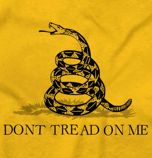 Gold2|Don't Tread On Me Tank Top|Tactical Tees