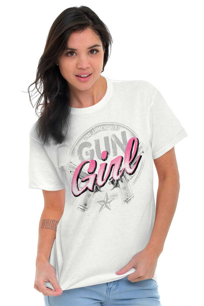 Female_White1|Gun Girl T-Shirt|Tactical Tees