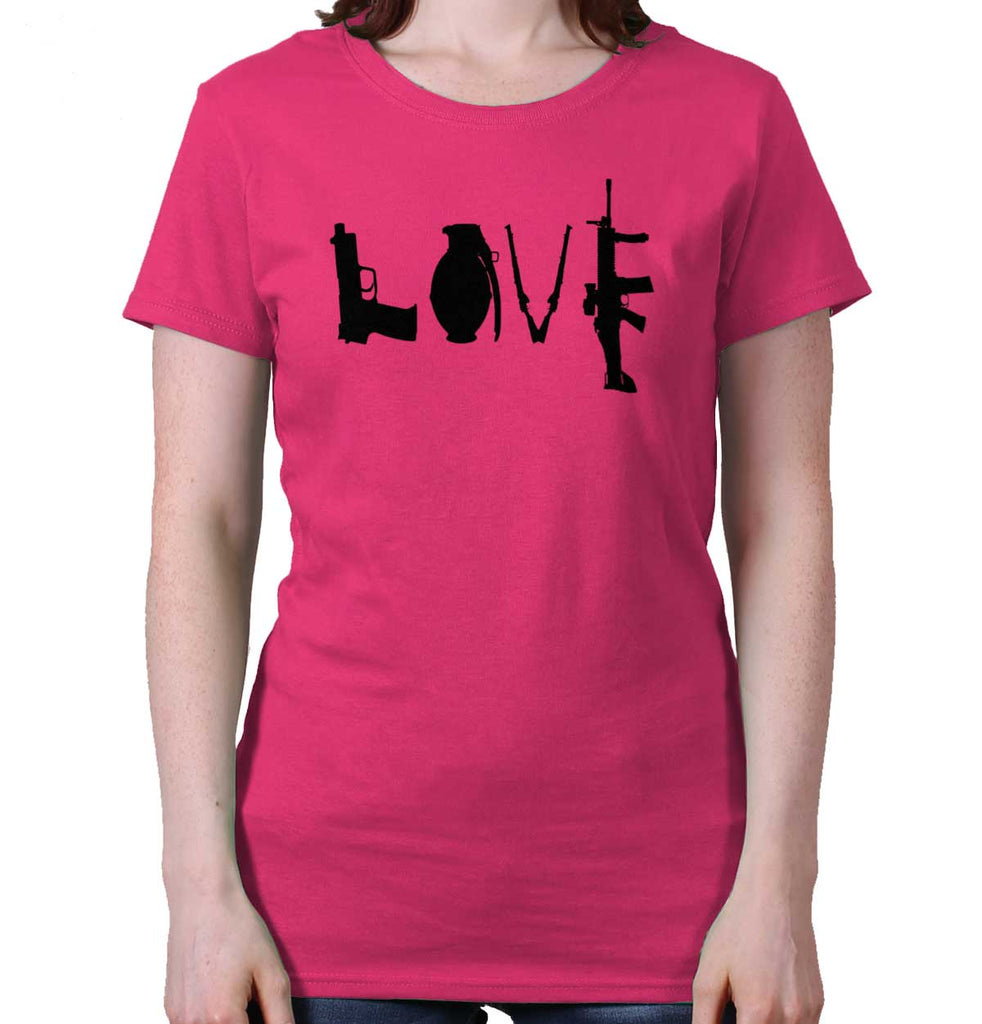 Heliconia|Gun Love Ladies T-Shirt|Tactical Tees