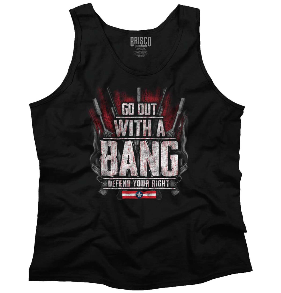 Black|Go Out With A Bang Tank Top|Tactical Tees