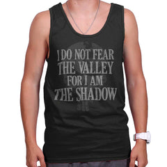 Black|I Am the Shadow Tank Top|Tactical Tees