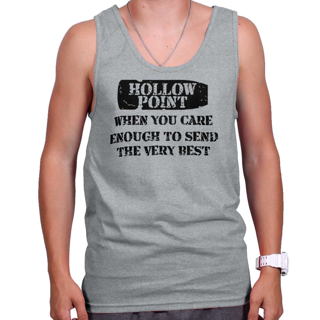 SportGrey|Hollow Point Tank Top|Tactical Tees