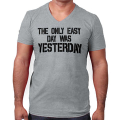 SportGrey|Yesterday V-Neck T-Shirt|Tactical Tees