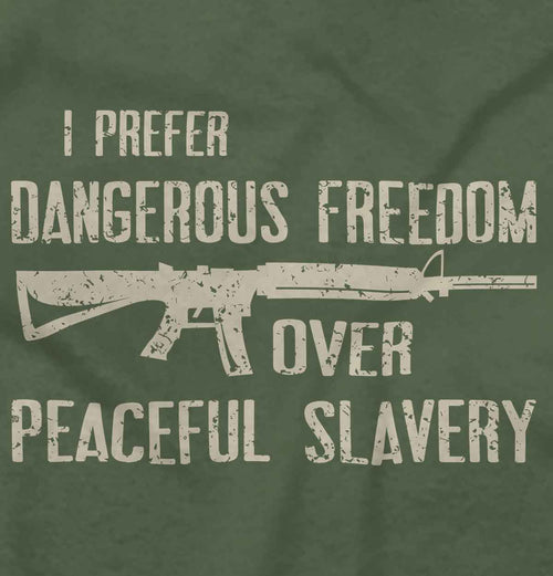 MilitaryGreen|Peaceful Slavery T-Shirt|Tactical Tees