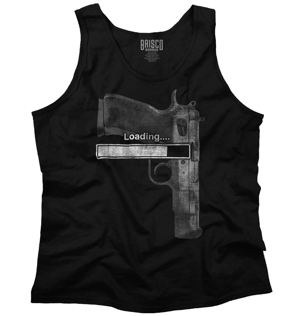 Black|Loading… Tank Top|Tactical Tees