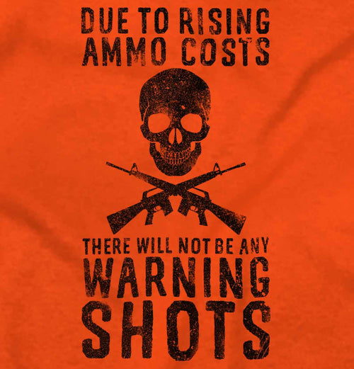 Orange|Warning Shots T-Shirt|Tactical Tees