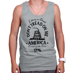 SportGrey|Dont Tread on Me Tank Top|Tactical Tees