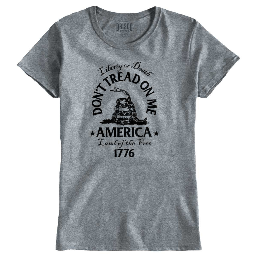SportGrey|Dont Tread on Me Ladies T-Shirt|Tactical Tees