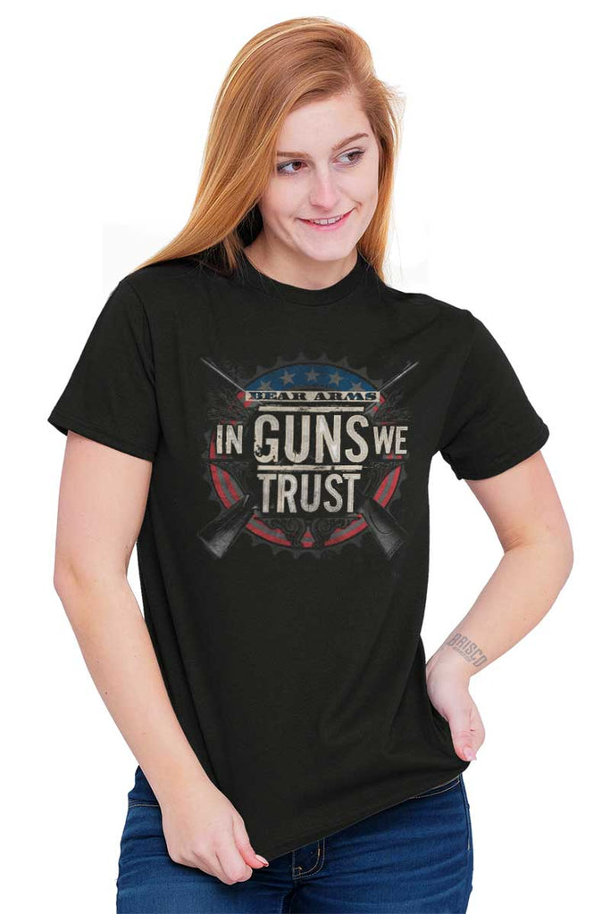 Female_Black2|In Guns We Trust T-Shirt|Tactical Tees