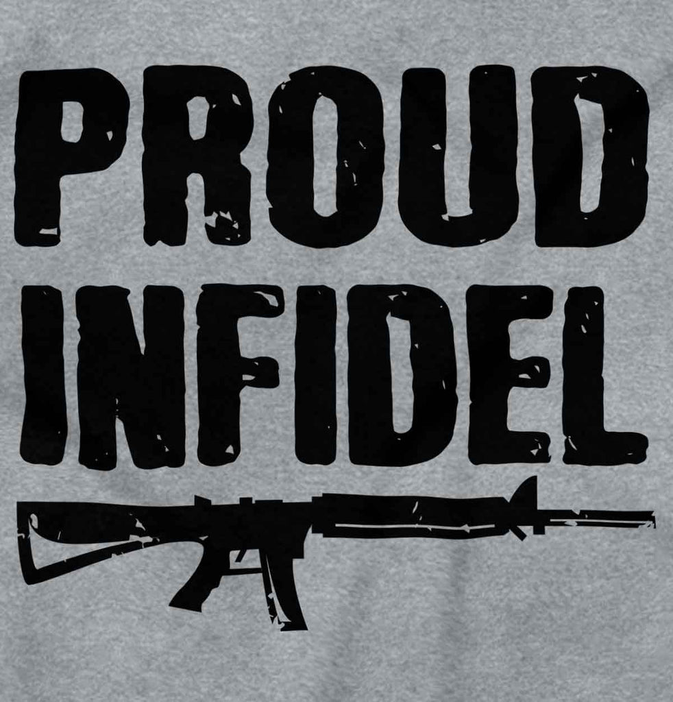 SportGrey2|Proud Infidel Zip Hoodie|Tactical Tees