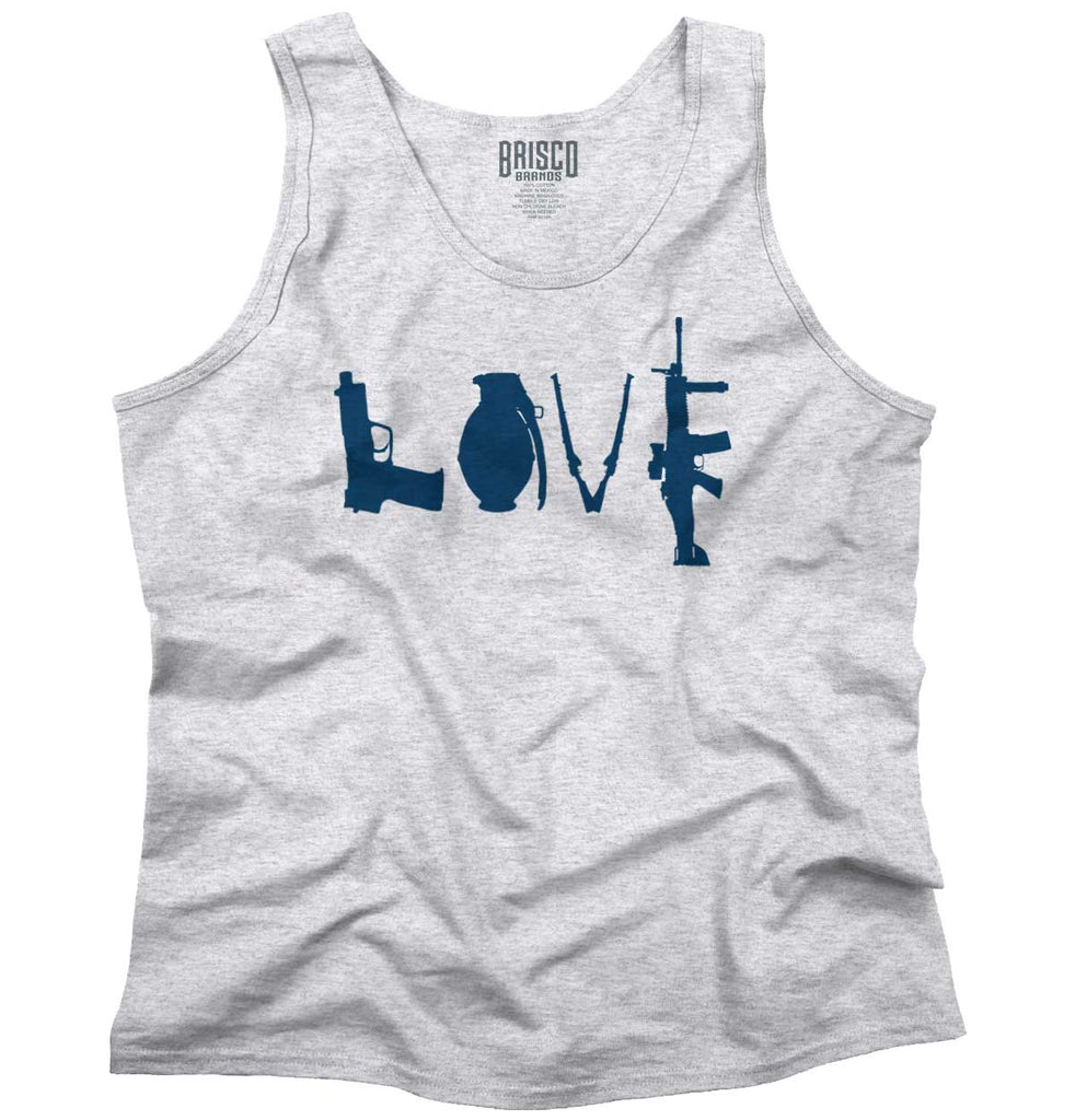 AshGrey|Gun Love Tank Top|Tactical Tees