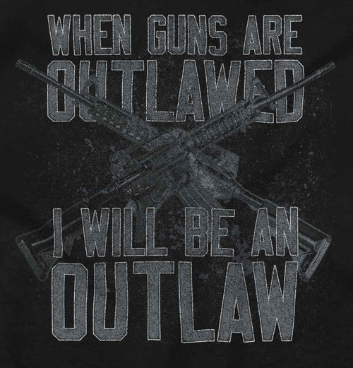 Black|Outlaw T-Shirt|Tactical Tees