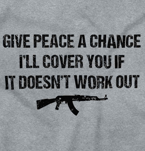 SportGrey2|Peace a Chance Sleeveless T-Shirt|Tactical Tees
