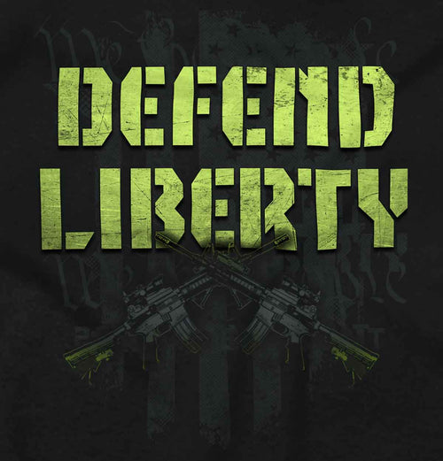 Black2|Defend Liberty Tank Top|Tactical Tees