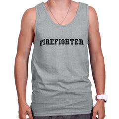 SportGrey|Firefighter Logo Tank Top|Tactical Tees