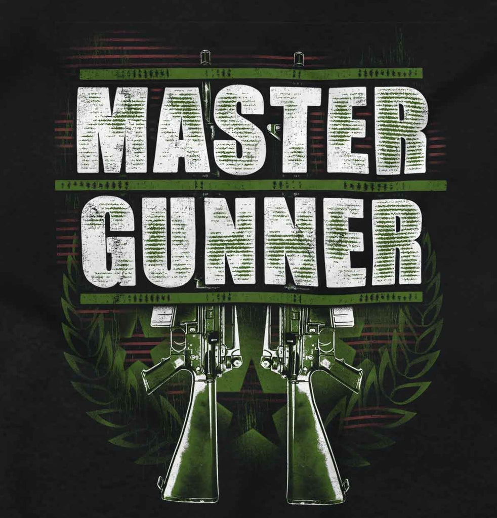 Black2|Master Gunner Tank Top|Tactical Tees