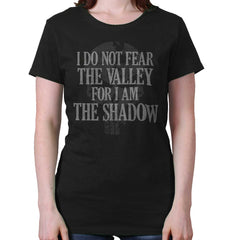 Black|I Am the Shadow Ladies T-Shirt|Tactical Tees