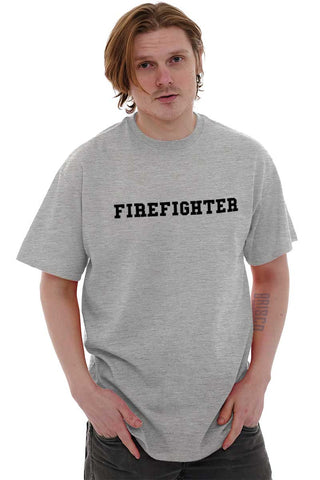 Male_SportGrey1|Firefighter Logo T-Shirt|Tactical Tees