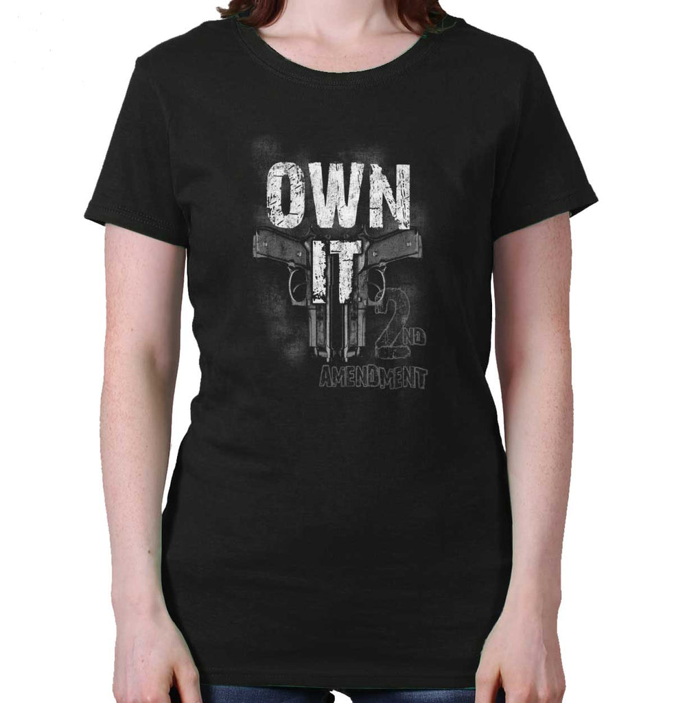 Black|Own It  AMaledMalet Ladies T-Shirt|Tactical Tees