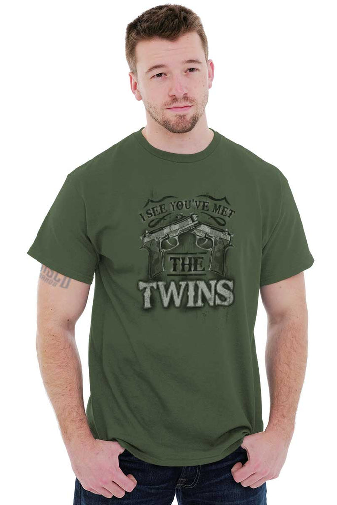 Male_MilitaryGreen1|I See Youve Met The Twins T-Shirt|Tactical Tees