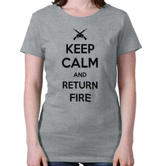 SportGrey|Return Fire Ladies T-Shirt|Tactical Tees