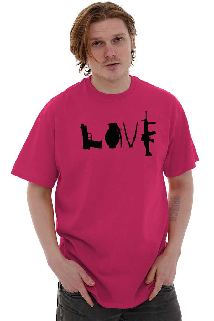 Male_Heliconia2|Gun Love T-Shirt|Tactical Tees