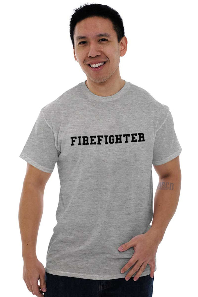 Male_SportGrey2|Firefighter Logo T-Shirt|Tactical Tees