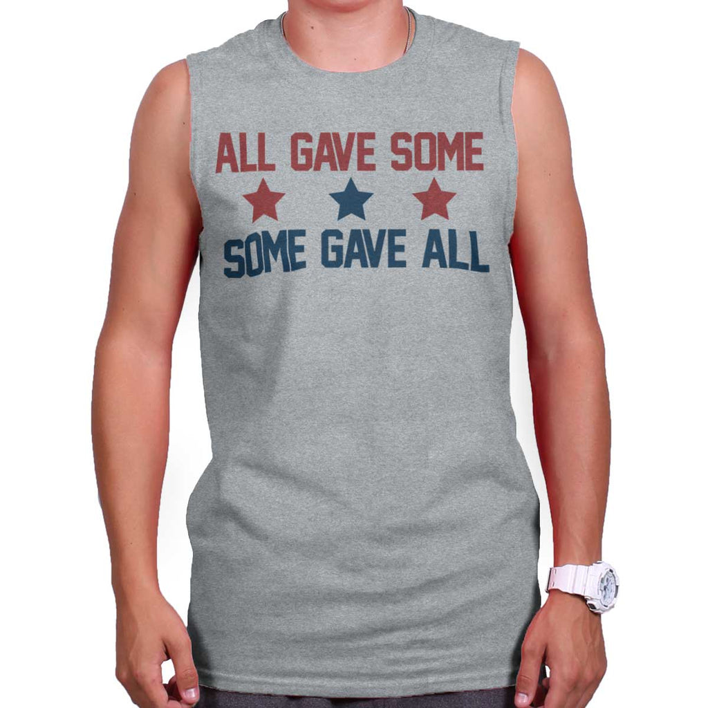 SportGrey|Some Gave All Sleeveless T-Shirt|Tactical Tees