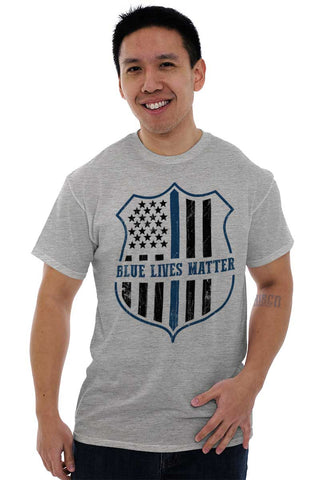 Male_SportGrey1|Blue Lives Matter Flag T-Shirt|Tactical Tees